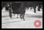 Image of Sleighs New York City USA, 1898, second 22 stock footage video 65675040624