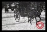 Image of Sleighs New York City USA, 1898, second 23 stock footage video 65675040624