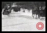 Image of Sleighs New York City USA, 1898, second 26 stock footage video 65675040624