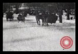 Image of Sleighs New York City USA, 1898, second 29 stock footage video 65675040624