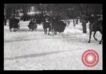 Image of Sleighs New York City USA, 1898, second 31 stock footage video 65675040624