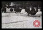 Image of Sleighs New York City USA, 1898, second 33 stock footage video 65675040624