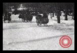 Image of Sleighs New York City USA, 1898, second 35 stock footage video 65675040624