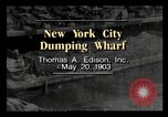 Image of wharf New York City USA, 1903, second 2 stock footage video 65675040628