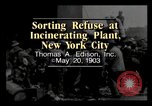 Image of Sorting refuse New York City USA, 1903, second 2 stock footage video 65675040629