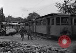 Image of Jeeps carrying soldiers Munich Germany, 1945, second 4 stock footage video 65675040640