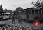 Image of Jeeps carrying soldiers Munich Germany, 1945, second 5 stock footage video 65675040640