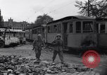 Image of Jeeps carrying soldiers Munich Germany, 1945, second 10 stock footage video 65675040640
