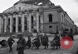 Image of Jeeps carrying soldiers Munich Germany, 1945, second 28 stock footage video 65675040640