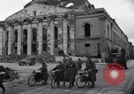 Image of Jeeps carrying soldiers Munich Germany, 1945, second 30 stock footage video 65675040640