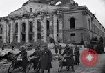 Image of Jeeps carrying soldiers Munich Germany, 1945, second 34 stock footage video 65675040640