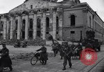 Image of Jeeps carrying soldiers Munich Germany, 1945, second 35 stock footage video 65675040640