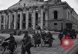 Image of Jeeps carrying soldiers Munich Germany, 1945, second 37 stock footage video 65675040640