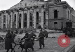 Image of Jeeps carrying soldiers Munich Germany, 1945, second 40 stock footage video 65675040640