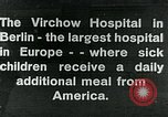 Image of Virchow Hospital Berlin Germany, 1920, second 1 stock footage video 65675040645