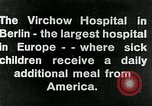 Image of Virchow Hospital Berlin Germany, 1920, second 2 stock footage video 65675040645
