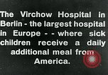 Image of Virchow Hospital Berlin Germany, 1920, second 5 stock footage video 65675040645