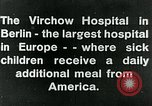 Image of Virchow Hospital Berlin Germany, 1920, second 6 stock footage video 65675040645