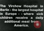 Image of Virchow Hospital Berlin Germany, 1920, second 7 stock footage video 65675040645