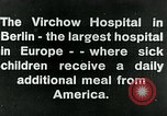 Image of Virchow Hospital Berlin Germany, 1920, second 11 stock footage video 65675040645