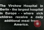 Image of Virchow Hospital Berlin Germany, 1920, second 13 stock footage video 65675040645