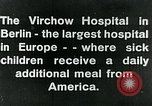Image of Virchow Hospital Berlin Germany, 1920, second 14 stock footage video 65675040645