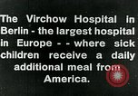 Image of Virchow Hospital Berlin Germany, 1920, second 15 stock footage video 65675040645
