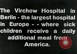 Image of Virchow Hospital Berlin Germany, 1920, second 16 stock footage video 65675040645