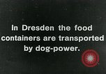 Image of food relief for Germany after World War 1 Germany, 1920, second 4 stock footage video 65675040647