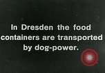 Image of food relief for Germany after World War 1 Germany, 1920, second 5 stock footage video 65675040647