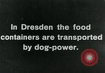 Image of food relief for Germany after World War 1 Germany, 1920, second 6 stock footage video 65675040647