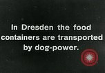 Image of food relief for Germany after World War 1 Germany, 1920, second 7 stock footage video 65675040647