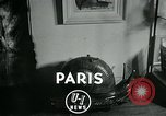 Image of various small curios Paris France, 1947, second 3 stock footage video 65675040653