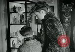 Image of various small curios Paris France, 1947, second 10 stock footage video 65675040653