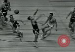 Image of basketball match New York United States USA, 1947, second 8 stock footage video 65675040655
