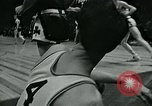 Image of basketball match New York United States USA, 1947, second 13 stock footage video 65675040655