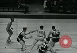 Image of basketball match New York United States USA, 1947, second 14 stock footage video 65675040655