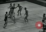 Image of basketball match New York United States USA, 1947, second 19 stock footage video 65675040655