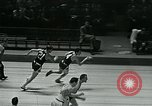 Image of basketball match New York United States USA, 1947, second 34 stock footage video 65675040655