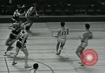Image of basketball match New York United States USA, 1947, second 45 stock footage video 65675040655