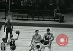 Image of basketball match New York United States USA, 1947, second 49 stock footage video 65675040655