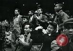 Image of basketball match New York United States USA, 1947, second 54 stock footage video 65675040655