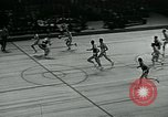 Image of basketball match New York United States USA, 1947, second 55 stock footage video 65675040655