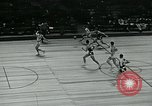 Image of basketball match New York United States USA, 1947, second 56 stock footage video 65675040655
