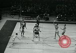 Image of basketball match New York United States USA, 1947, second 59 stock footage video 65675040655