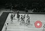 Image of basketball match New York United States USA, 1947, second 60 stock footage video 65675040655