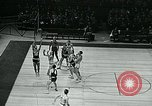 Image of basketball match New York United States USA, 1947, second 61 stock footage video 65675040655