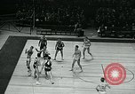 Image of basketball match New York United States USA, 1947, second 62 stock footage video 65675040655
