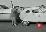 Image of Moulton Taylor Aerocar aerobile Longview Washington USA, 1951, second 19 stock footage video 65675040659