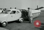 Image of Moulton Taylor Aerocar aerobile Longview Washington USA, 1951, second 30 stock footage video 65675040659